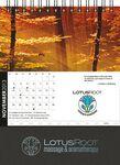 Custom Square Desktop Monthly Planner