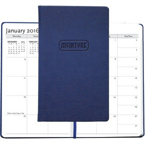 "Casebound Hybrids™ - Bohemian™ Textured Journal w/Planner - Medium (5""x8.5"")"