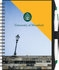 Custom SlimLine Color - NotePad w/PenPort & Pen (ValueLine) (5