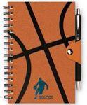 Custom Wire-Bound SportsBooks w/Leather SnapWrap Closure - SeminarPad (5.5