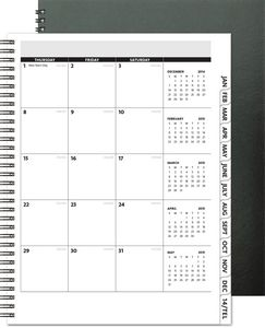 TimePlannerValue - Analyst Monthly Planner