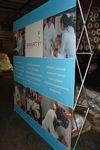 Custom Banner Including Made in USA Pop-up Stand