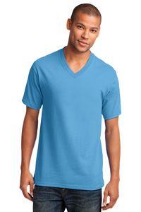Port & Company 5.4 Oz. 100 percent Cotton V-Neck T-Shirt