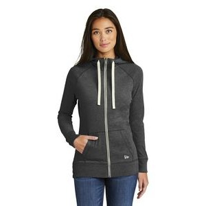 New Era® Ladies' Sueded Cotton Full Zip Hoodie