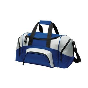 Port Authority® Colorblock Small Sport Duffel Bag