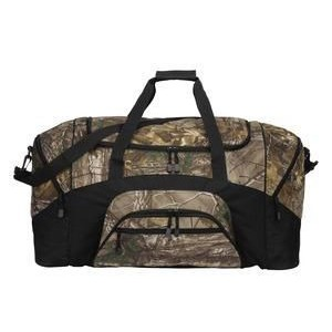 Port Authority® Camouflage Colorblock Sport Duffel Bag