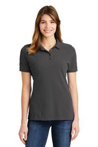 Port & Company Ladies Ring Spun Pique Polo Shirt