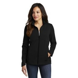 OGIO® Ladies' Exaction Soft Shell Jacket