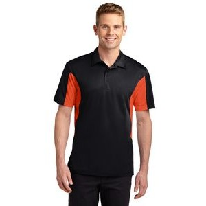 Sport-Tek® Side Blocked Micropique Sport-Wick® Polo Shirt