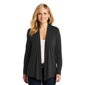 Port Authority® Ladies Concept Knit Cardigan Sweater