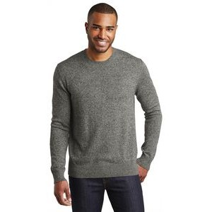 Port Authority® Marled Crew Sweater