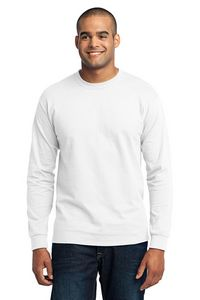 Port & Company 5.5 Oz. Long Sleeve 50/50 Cotton/ Poly T-Shirt
