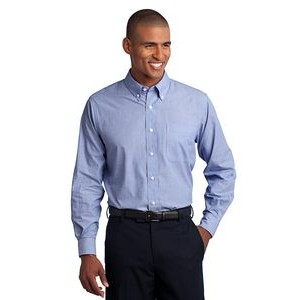 Port Authority® Crosshatch Easy Care Shirts