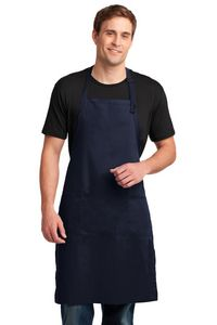 Port Authority Easy Care Extra Long Bib Apron w/ Stain Release