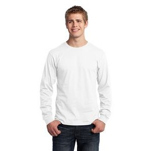 Port & Company® Men's Long Sleeve Core Cotton T-Shirt