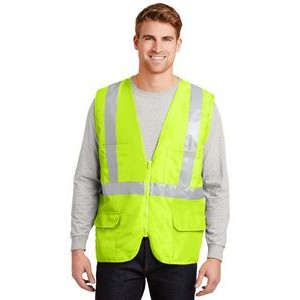 Cornerstone® ANSI 107 Class 2 Mesh Back Safety Vest
