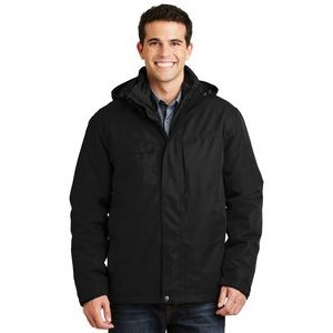 Port Authority® Herringbone 3-IN-1 Parka Jacket