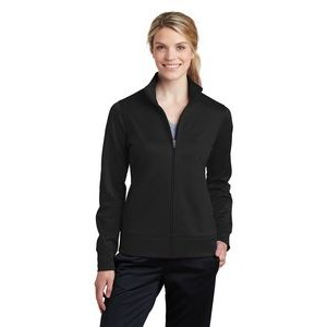 Ladies' Sport-Tek® Sport-Wick® Fleece Full-Zip Jacket
