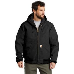 Carhartt® Tall Quilted Flannel Lined Duck Active Jacket