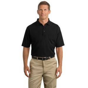 CornerStone® Industrial Pocket Pique Knit Polo Shirt