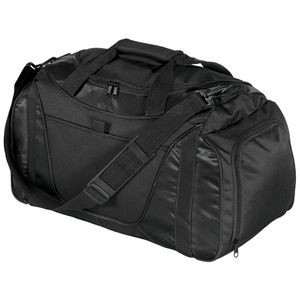 Port Authority® Small Two-Tone Duffel Bag