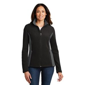 Port Authority® Colorblock Ladies' Value Fleece Jacket