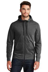 New Era® Tri Blend Fleece Full Zip Hoodie 355491424