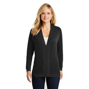 Port Authority® Ladies Concept Bomber Cardigan Sweater