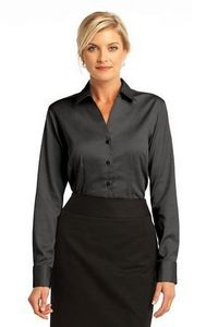 Red House Ladies French Cuff Non-Iron Pinpoint Oxford Shirts