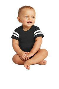 Rabbit Skins Infant Football Fine Jersey Bodysuit