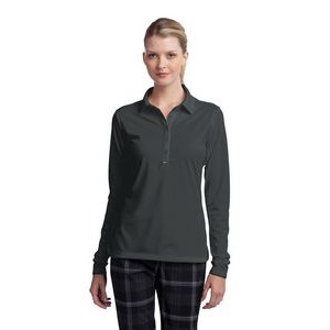 Nike Golf Ladies' Long Sleeve Dri-FIT Stretch Tech Polo Shirt