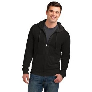District® Men's Jersey Full-Zip Hoodie