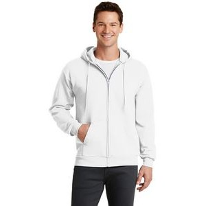 Port & Company® Core Fleece Full Zip Hooded Sweatshirt