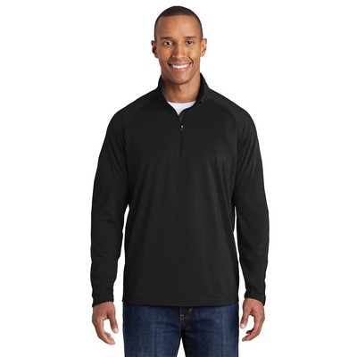 Adult Sport-Wick® Stretch 1/2-Zip Pullover Shirt