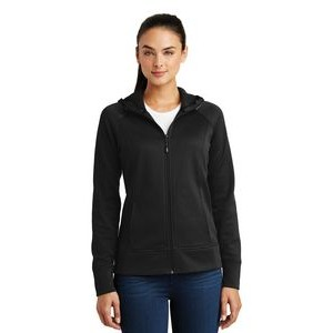 Sport-Tek® Ladies' Rival Tech Fleece Full Zip Hooded Jacket
