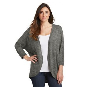 Port Authority® Ladies Marled Cocoon Sweater