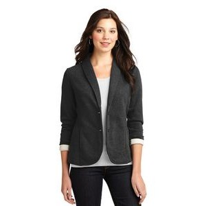 Port Authority® Ladies' Fleece Blazer Jacket