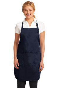 Port Authority Easy Care Full-Length Apron w/ Stain Release