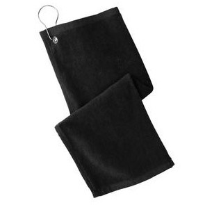 Port Authority® Grommeted Hemmed Towel