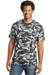Custom District Made Men's Perfect Weight Camo Short Sleeve T-Shirt
