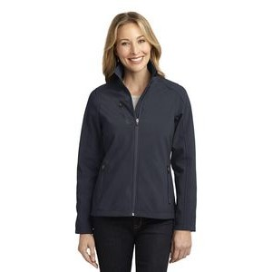 Port Authority� Ladies' Welded Soft Shell Jacket