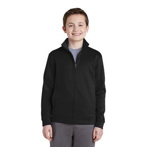Youth Sport-Tek® Sport-Wick® Fleece Full-Zip Jacket