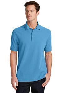 Port & Company Ring Spun Pique Polo Shirt