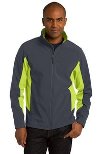 Port Authority Mens Core Colorblock Soft Shell Jacket