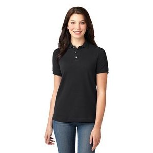 Port Authority® Ladies' Heavyweight Cotton Pique Polo Shirt