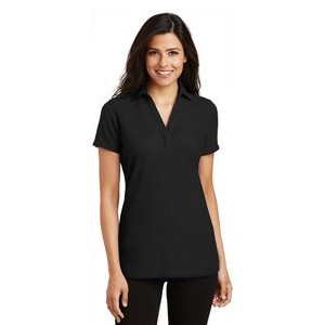 Port Authority® Silk Touch™ Y-Neck Ladies' Polo Shirt