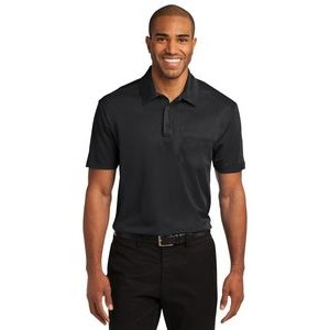 Port Authority® Silk Touch™ Performance Pocket Polo Shirt