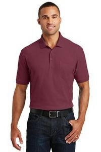 Port Authority Core Classic Pique Pocket Polo Shirt