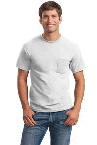 Gildan Ultra Cotton 100 percent Cotton Adult T-Shirt w/ Pocket