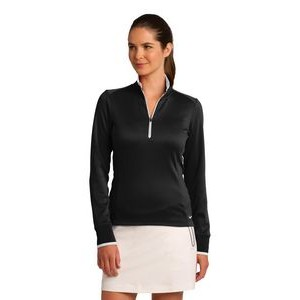 Nike Golf Ladies' Dri-FIT 1/2-Zip Cover-Up Shirt